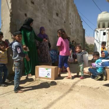 Дополнительный сбор для беженцев в Ливане