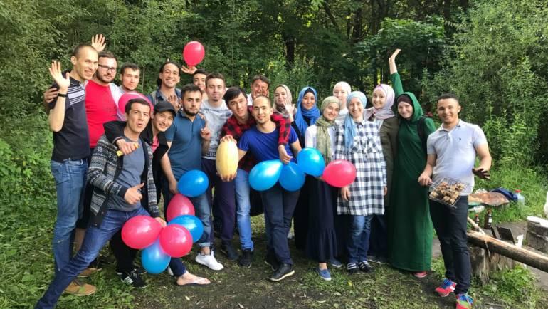Активные выходные с волонтерами фонда «Закят» в Измайловском парке