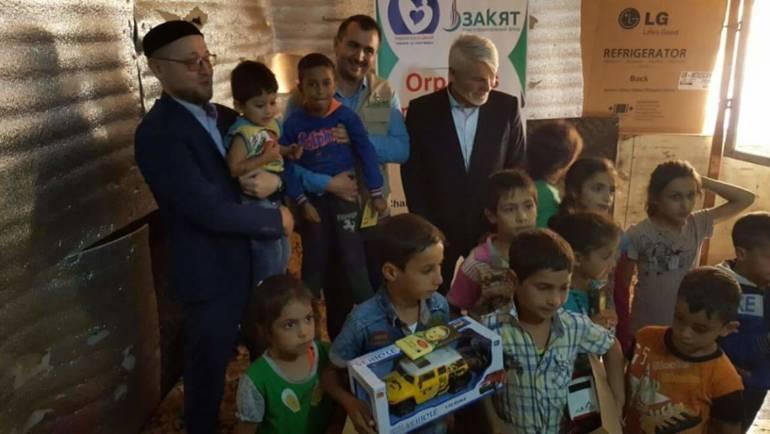 Завершился двухдневный визит муфтия Москвы Ильдар хазрата Аляутдинова и фонда «Закят» в Ливан