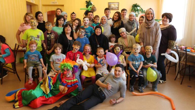 В прошедшее воскресенье волонтеры фонда «Закят» посетили детский дом в г. Ступино