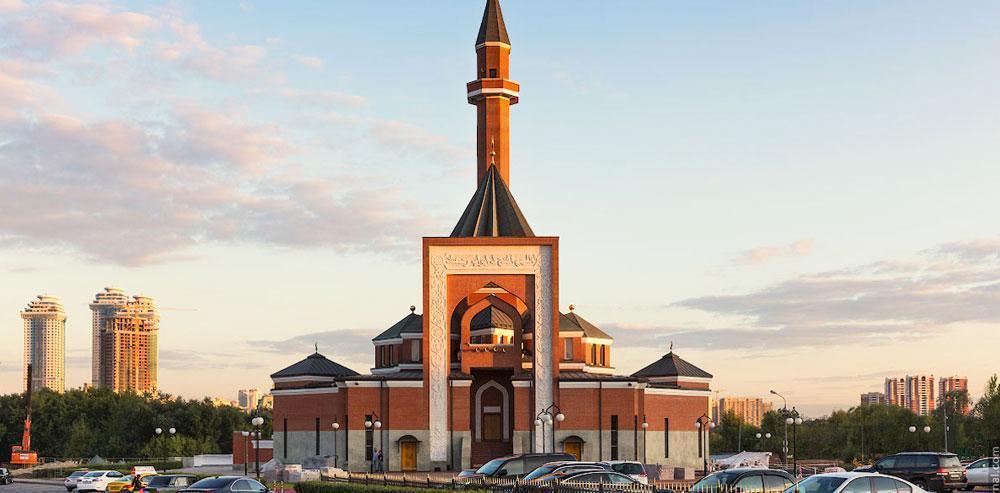 Заставка для - Московская Мемориальная мечеть