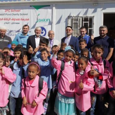 Школа для сирийских беженцев