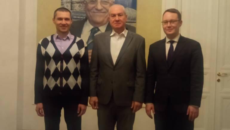 Встреча руководителя фонда «Закят» с послом Палестины по вопросам благотворительности