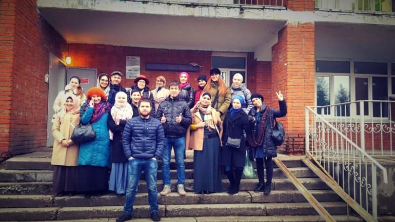 18 ноября наши волонтеры посетили Дом престарелых в селе Бояркино Озерского района Московской области