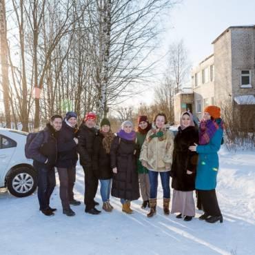В минувшую субботу волонтёры фонда «Закят» совместно с фондом «Старость в радость» посетили Отделение паллиативной медицинской помощи