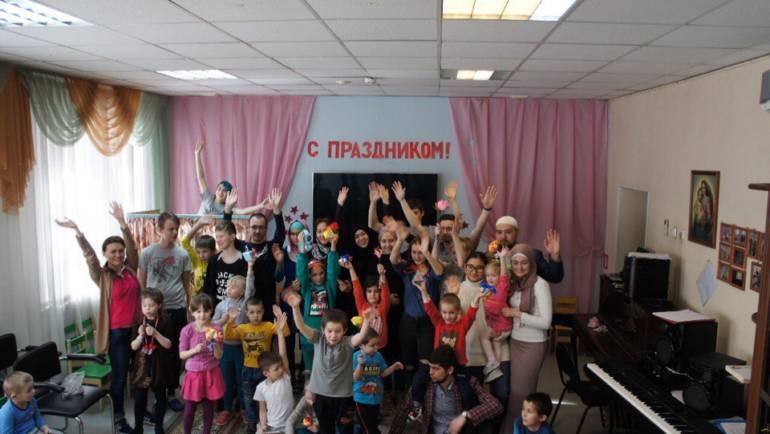 Волонтеры посетили Домодедовский социально-реабилитационный центр для несовершеннолетних «СЕМЬЯ»