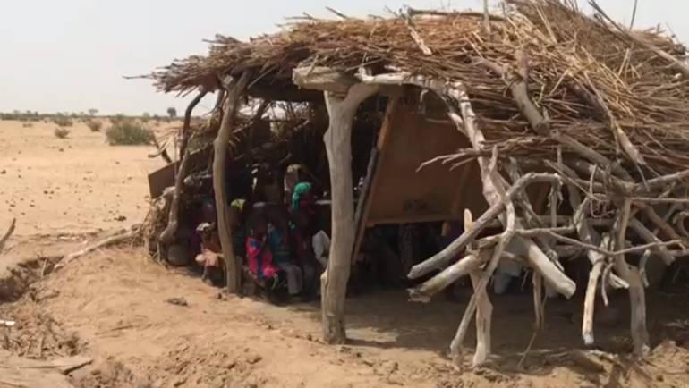 Учебные классы в Африке