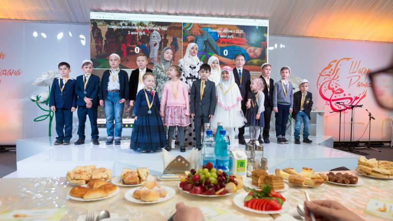 10 июня в Шатре Рамадана состоялся благотворительный вечер «Поделись сердцем»