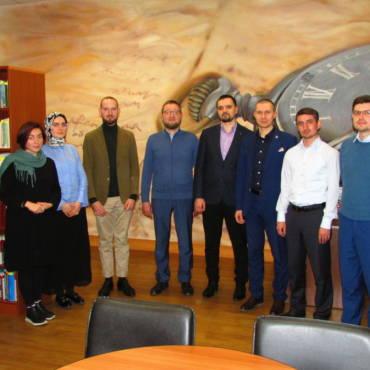 Встреча со стипендиатами ДУМ Москвы