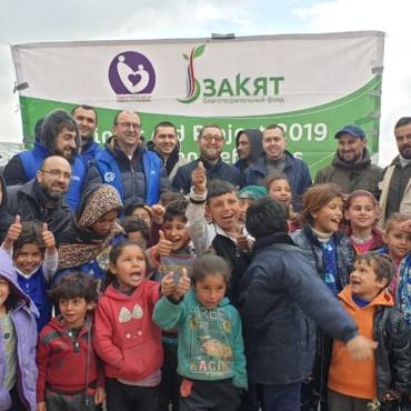Итоги гуманитарной миссии к сирийским беженцам