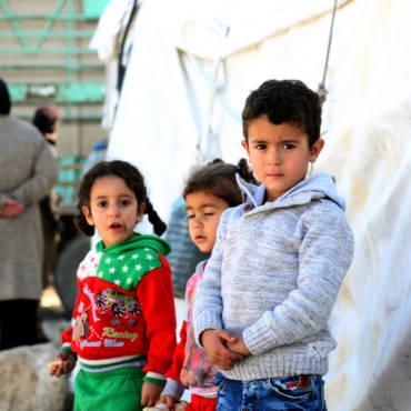Для сирийских беженцев «Тепло в зиму»