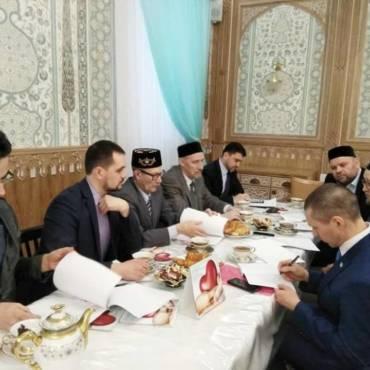 Ежегодное заседание Совета благотворительного фонда «Закят»