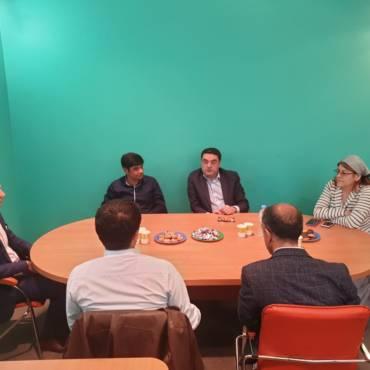 Встреча с представителями Международной Ассоциации Исламского Бизнеса