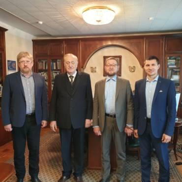 Генеральный директор БФ «Закят» встретился с главным психиатром России