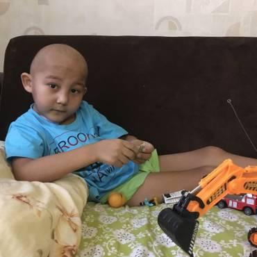 Руслан болен, рак можно победить!