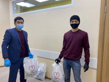 БФ «Закят» оказал помощь многодетным малоимущим семьям из Киргизской общины