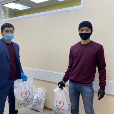 БФ»Закят» оказал помощь многодетным малоимущим семьям из Киргизской общины