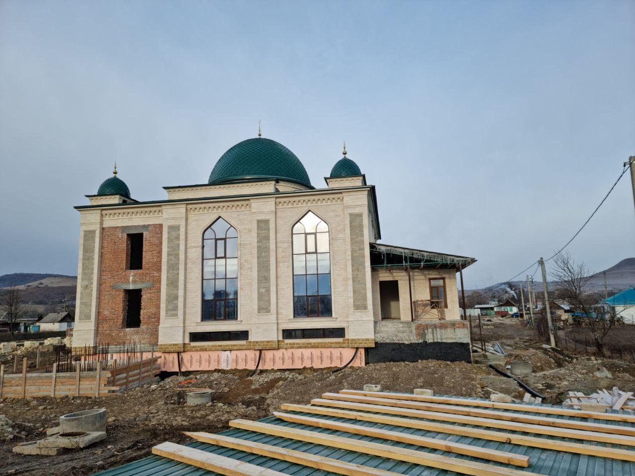 Заставка для - Поддержим строительство мечети в Карачаево-Черкесской Республике