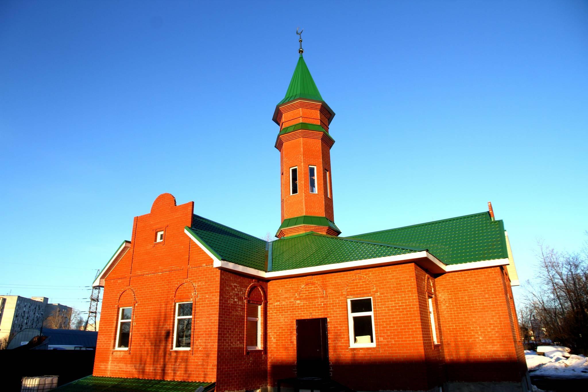 Заставка для - Достроим мечеть в Перми!