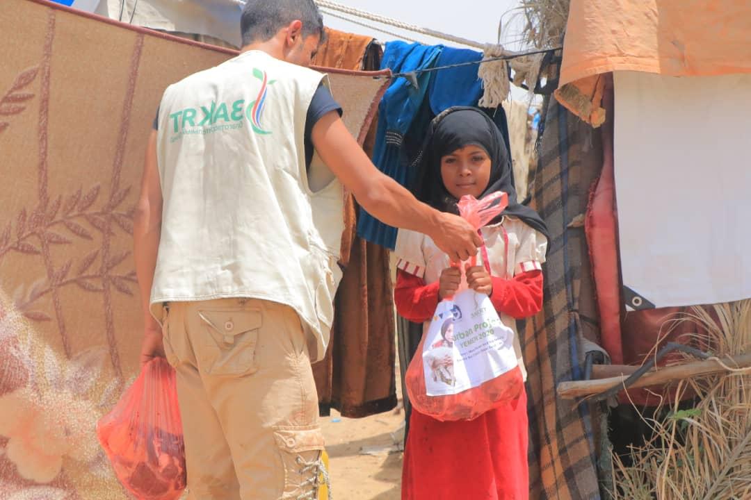 Заставка для - Гуманитарная помощь голодающим в Йемене