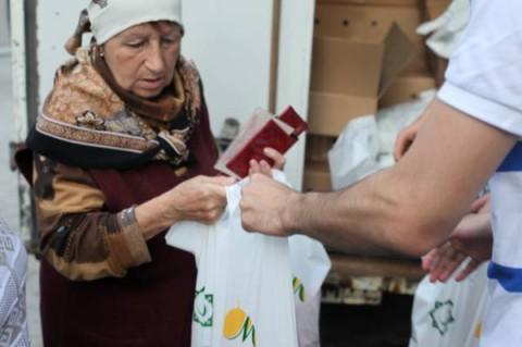 Фонд «Закят» направил мясо пенсионерам, инвалидам и многодетным семьям