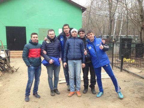 Уборка Кузьминского кладбища